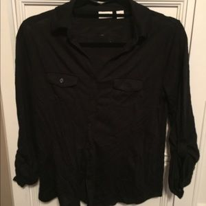 SOLD!! Cato Collard Buttoned Shirt - Size M